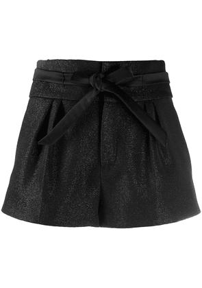 Saint Laurent tie-waist shorts - Black