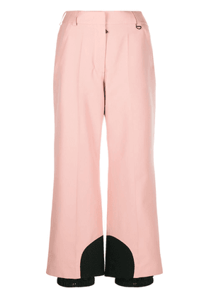 Moncler Gore-Tex two-tone loose trousers - PINK