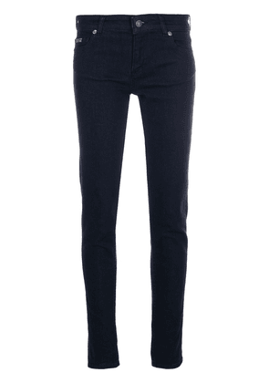 Versace Jeans Couture skinny embroidered logo jeans - Blue