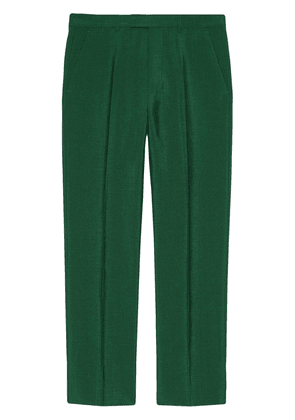 Gucci high-waist tailored trousers - Green