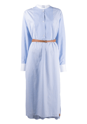 Loewe striped shirt dress - Blue