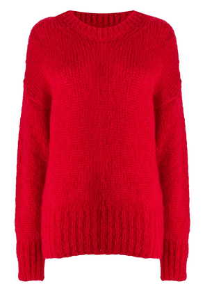 Isabel Marant chunky-knit jumper - Red