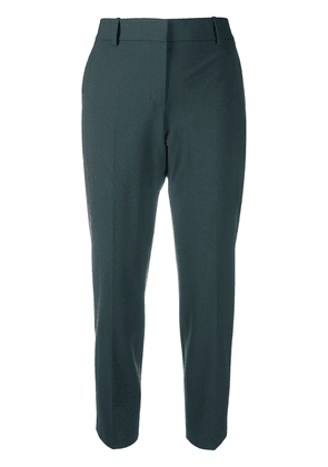 Theory slim cropped trousers - Green
