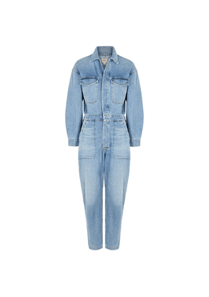 Citizens Of Humanity Marta Light Blue Denim Jumpsuit