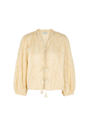 Forte forte Cream Lace Jacket