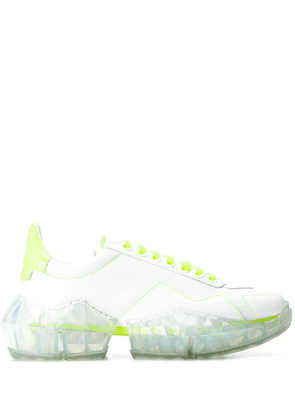 Jimmy Choo YK Jeong Diamond low-top sneakers - White