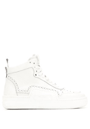 Thom Browne Basketball high-top sneakers - White