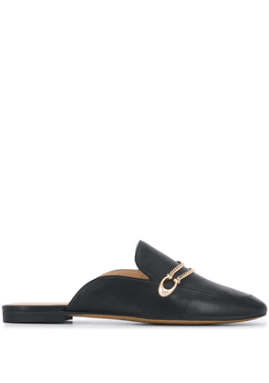 Coach slip-on leather loafers - Black