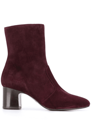 Chie Mihara Naylon side-zip boots - Red
