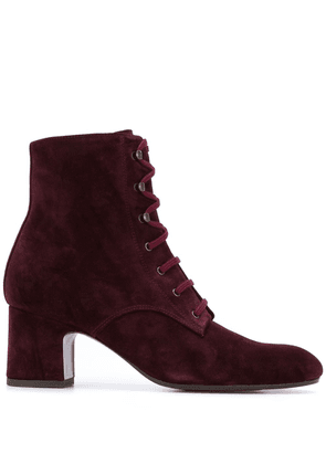 Chie Mihara Nako lace-up boots - Red