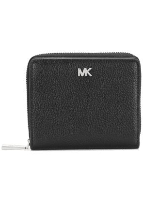 Michael Michael Kors MK zipped wallet - Black