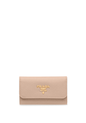 Prada Saffiano leather keyholder - PINK