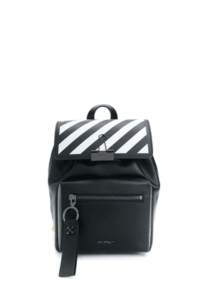 Off-White small diagonal backpack - Black