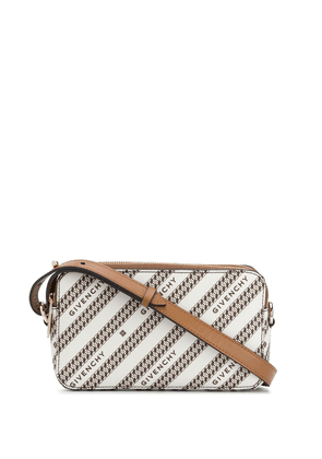 Givenchy chain-print crossbody bag - Neutrals