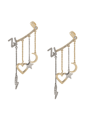 Zadig & Voltaire Mix N Match mono earring - GOLD