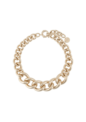Ermanno Scervino chunky chain necklace - GOLD