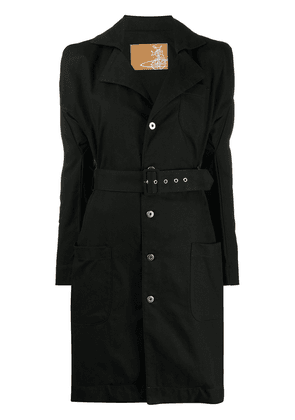 Vivienne Westwood puff-sleeve shirt dress - Black