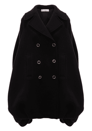 JW Anderson oversized double-breasted coat - Black