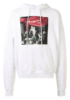 Off-White Caravaggio-print Arrows hoodie