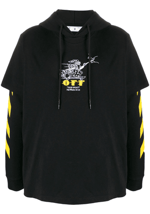 Off-White free wizard hoodie - Black
