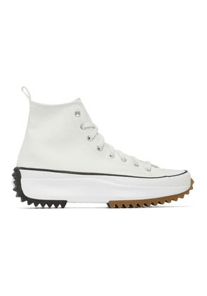 Converse White Run Star Hike Sneakers