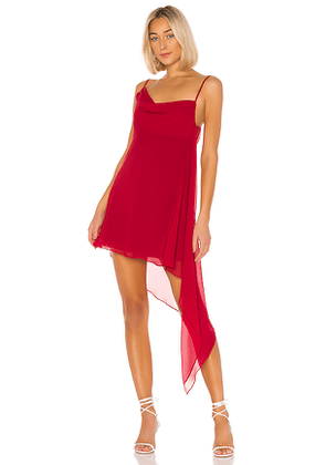 House of Harlow 1960 X REVOLVE Romy Dress in Red. Size XS.