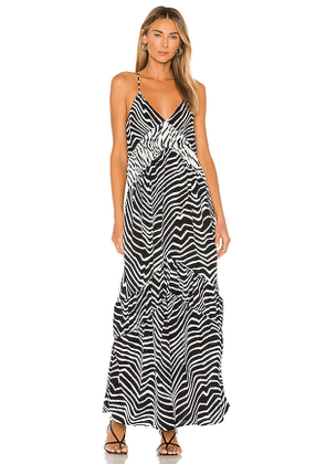 House of Harlow 1960 x REVOLVE Russo Maxi in Black. Size M,XS.