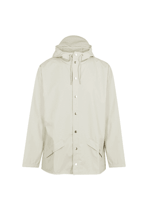 Rains Off-white Rubberised Raincoat