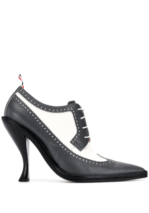 Thom Browne Longwing Spectator brogue 105mm pumps - Grey