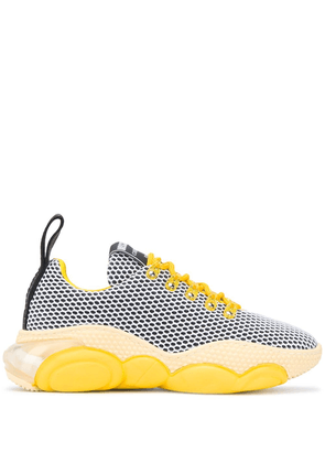 Moschino Teddy low-top sneakers - Yellow