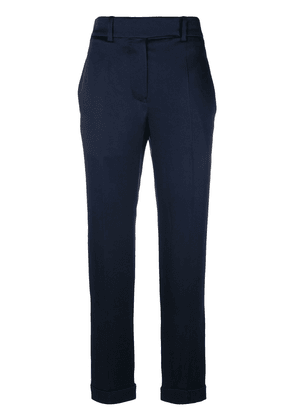 Haider Ackermann cropped tailored trousers - Blue