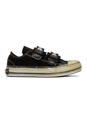 Palm Angels Black Logo Vulcanized Sneakers