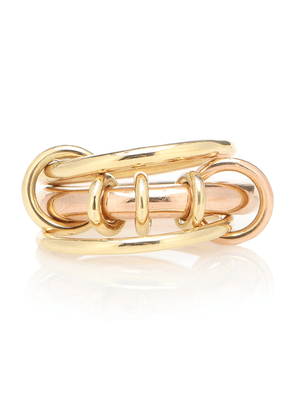 Gemini 18kt yellow and rose gold ring