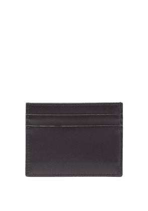 Dolce & Gabbana - Logo-print Leather Cardholder - Mens - Black