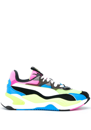 Puma RS-X panelled low-top sneakers - Yellow