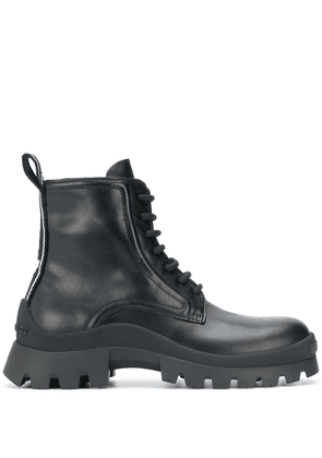 Dsquared2 leather ankle lace-up boots - Black