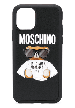 Moschino logo teddy iPhone 11 Pro case - Black