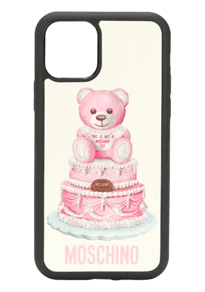 Moschino Teddy Bear iPhone 11 Pro cover - Black