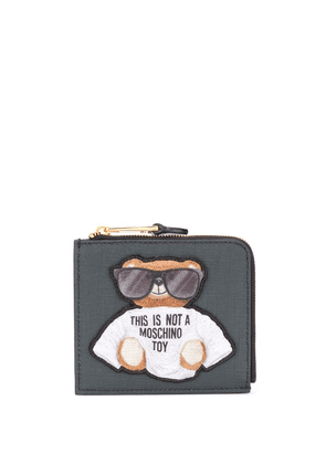 Moschino Teddy Bear coin purse - Black