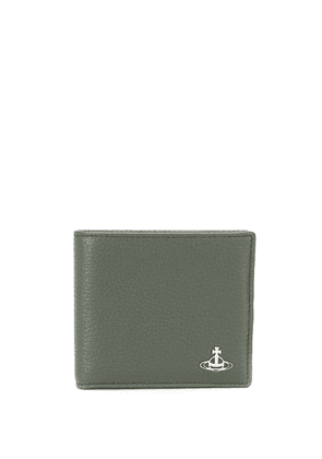 Vivienne Westwood branded card holder - Green