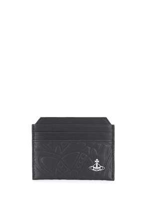 Vivienne Westwood branded card holder - Black