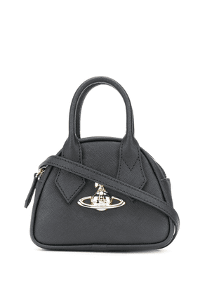 Vivienne Westwood mini orb tote bag - Black