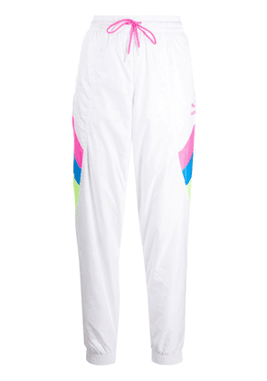 Puma TFS panelled track trousers - White