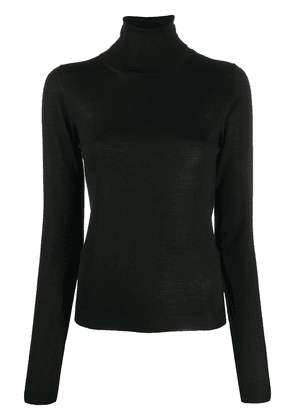 Dondup roll-neck long-sleeved jumper - Black