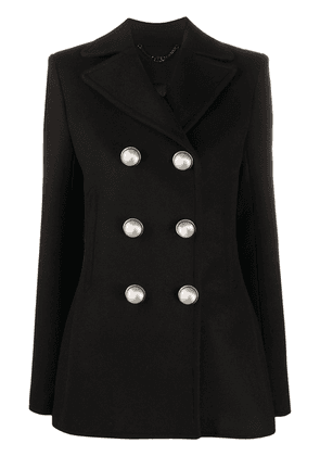 Paco Rabanne fitted double-breasted blazer - Black