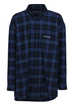 Over Check Shirt