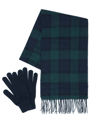 Wool Scarf & Gloves Box Set