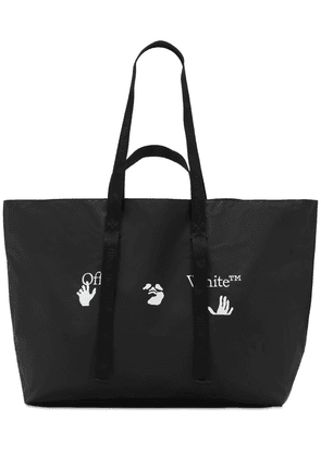 Logo Print Tech Tote Bag