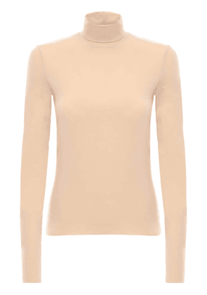 Tech Jersey Turtleneck Top