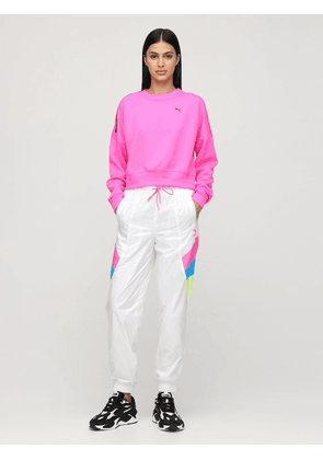 Cropped Techincal Sweatshirt
